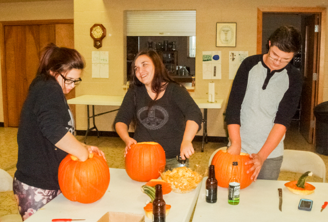 Youth Group Pumpkins-2